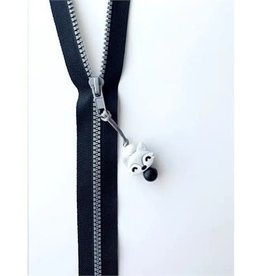 Jululu Bijoux Ami-Zip - Renard gris pâle