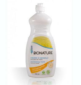 Bionature Liquide à vaisselle en bouteille 730  ml