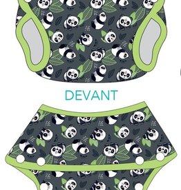 Hopalo Couche-maillot évolutive 8-35 lbs pandas