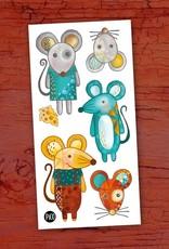 Pico Tatouage Tatouage temporaire Mimi la souris et ses amis