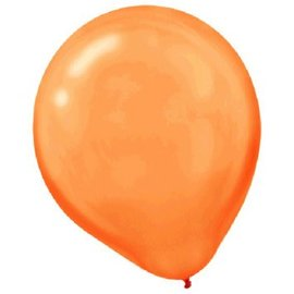 Orange Peel Pearl Latex Balloons - Packaged, 72 ct