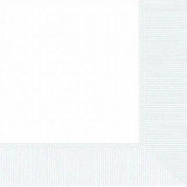 Frosty White 3-Ply Beverage Napkins, 50ct