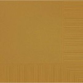 Gold 3‑Ply Luncheon Napkins, 50ct