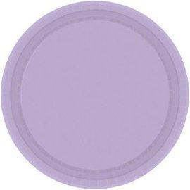 """Lavender Paper Plates, 7"""" 20ct"""