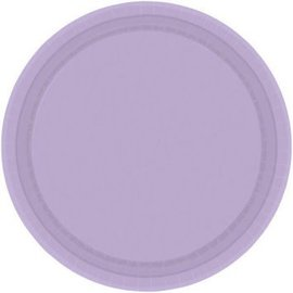"Lavender Paper Plate 9"", 20ct"