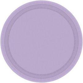 "Lavender Paper Plate 9"""