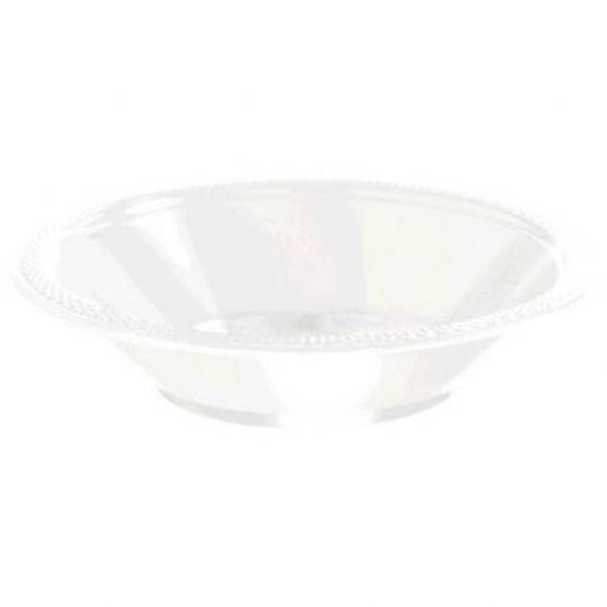 White Plastic Bowl 12oz 20ct