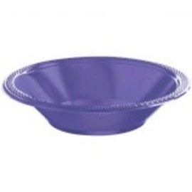 New Purple Plastic Bowls, 12oz. 20ct