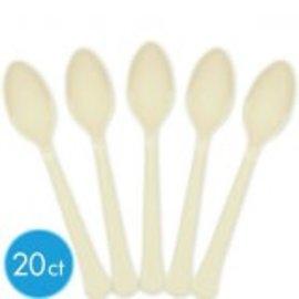 Premium Spoon - Vanilla Cream 20Ct