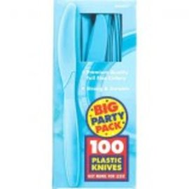 Big Party Pack Caribbean Plastic Knives, 100ct