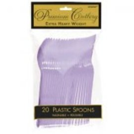 Premium Spoon -Lavender 20Ct