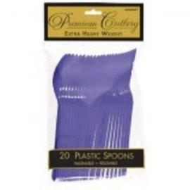 Premium Spoon - New Purple 20Ct
