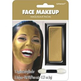 Gold Face Makeup