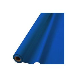 "Bright Royal Blue Solid Table Roll, 40"" x 100'"