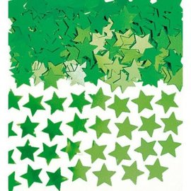 Green Mini Stars Confetti