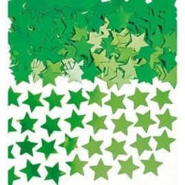 Green Mini Stars Confetti