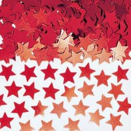 Red Mini Stars Confetti