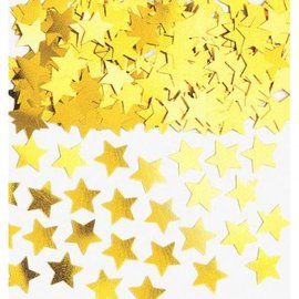Gold Mini Stars Confetti .25oz.