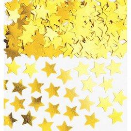 Gold Mini Stars Confetti .25oz.