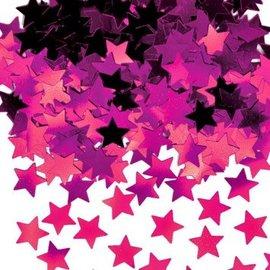 Pink Mini Stars Confetti