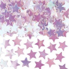 Iridescent Mini Stars Confetti