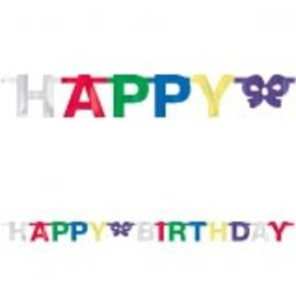 Happy Birthday Letter Banner ‑ Multi