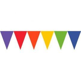 Pennant Banner Paper Rainbow