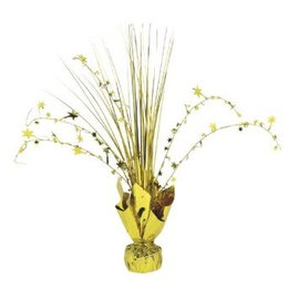 Gold Foil Spray Centerpiece