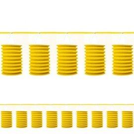 Yellow Sunshine Paper Lantern Garland 12'