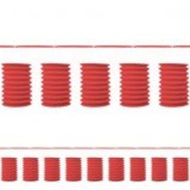 Apple Red Paper Lantern Garland-12'