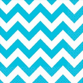 Caribbean Beverage Napkins - Chevron 16ct.