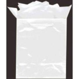 White Medium Solid Glossy Bag