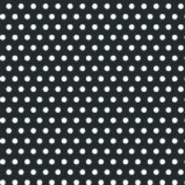 Polka Dot ‑ Black Printed Jumbo Gift Wrap