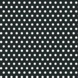 Polka Dot ‑ Black Printed Jumbo Gift Wrap