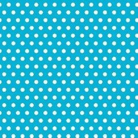 Polka Dot - Caribbean Printed Jumbo Gift Wrap