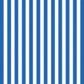 Stripe ‑ Royal Blue Printed Jumbo Gift Wrap