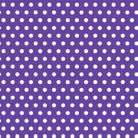 Polka Dot - Purple Printed Jumbo Gift Wrap
