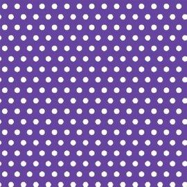 Polka Dot - Purple Printed Jumbo Gift Wrap