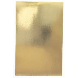 Gold Foil Solid Gift Wrap