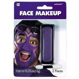 Purple Face Makeup
