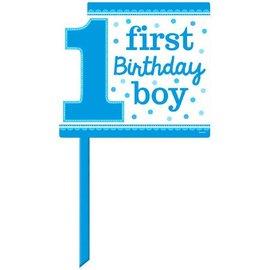 Yard Sign 1ST Birthday Boy