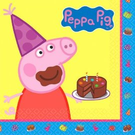 Peppa Pig Luncheon Napkins, 16ct- Clearance