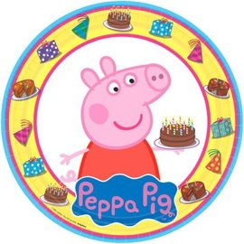 "Peppa Pig™ Round Plates, 9"" 8ct. - Clearance"