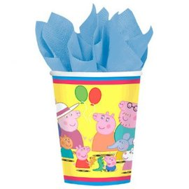 Peppa Pig™ Cups, 9 oz. -8ct - Clearance