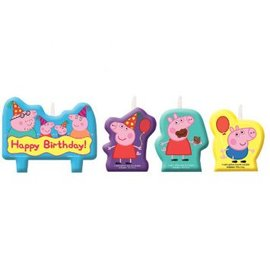 Peppa Pig™ Birthday Candle Set