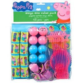 Peppa Pig™ Mega Pack Favors 48pc - Clearance