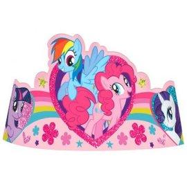 My Little Pony Friendship Paper Tiara, 8ct