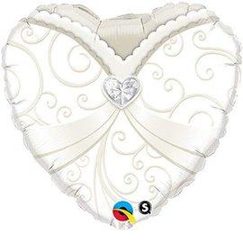 "Wedding Gown Balloon, 18"" (#106)"