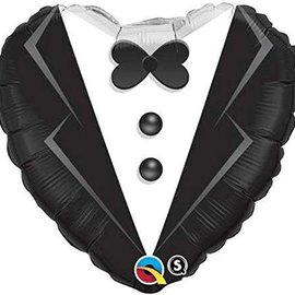 "Wedding Tuxedo Balloon, 18"" (#107)"