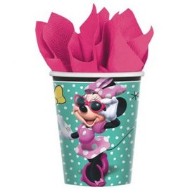 ©Disney Minnie Mouse Happy Helpers Cups, 9 oz. -8ct